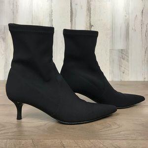 Donald J Pliner   Sock Stiletto Booties Size 7 1/2